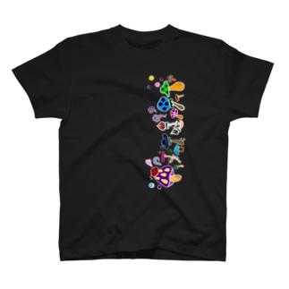 きのこ達 T-shirts