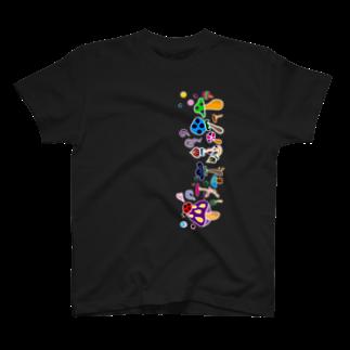 キキティのきのこ達 T-shirts