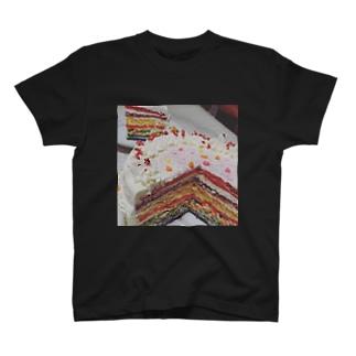 7色に輝く夢・希望 T-shirts