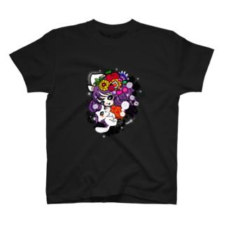 猫ちゃん女子 T-shirts