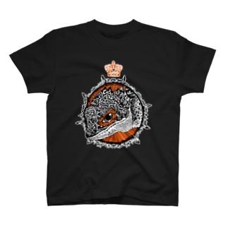 アカメカブトトカゲ T-shirts