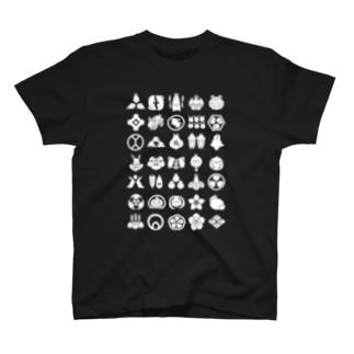 うさぎの家紋 T-shirts