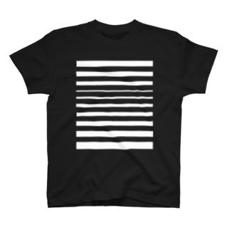 "$HIGOTO;WEAR""Uneven Border"" T-shirts"
