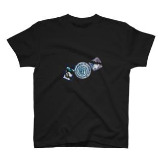 夏の三点セット 黒【数量限定】 T-shirts