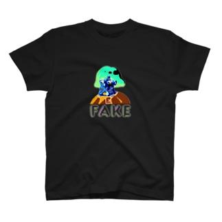 山口 むつおの凶のハンドサイン 80's【裏】 T-shirts