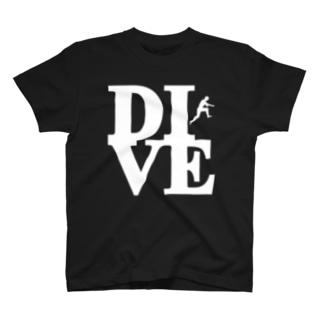 """Dive"" POP-ART風 T-shirts"
