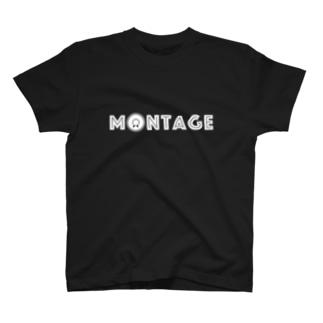 "$HIGOTO;WEAR""MONTAGE"" T-shirts"
