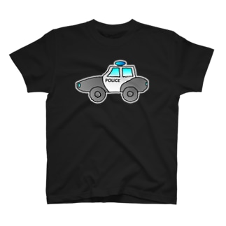 警察車両 Police Car T-shirts