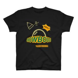 スノー坊主 チーム 濃色向き T-shirts