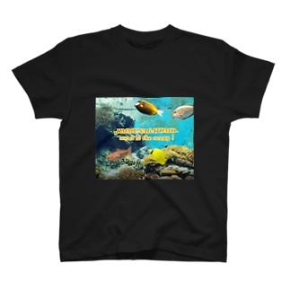 大海原へ Tシャツ T-shirts