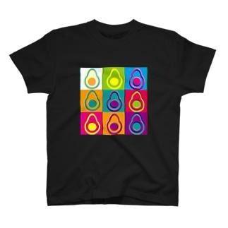 9連アボカド T-shirts