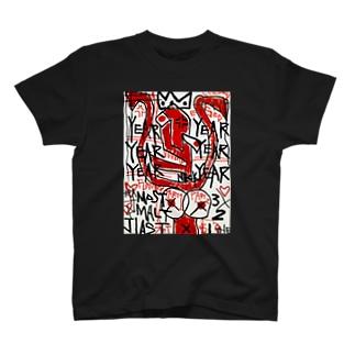 Tomoya Satoのsmoking pumps generation T-shirts