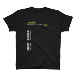 ぷぷぷ屋の【流出】 試作品の服(クロ) T-shirts