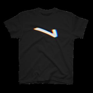 L.D.PのL logo Black T-shirts