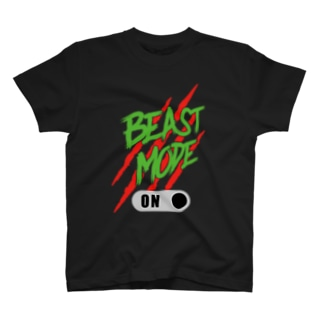 BEAST MODE ON 04 T-shirts
