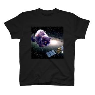 スーパー宇宙ネコ T-shirts
