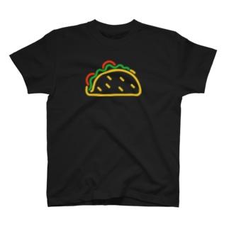 タコス ネオン T-shirts