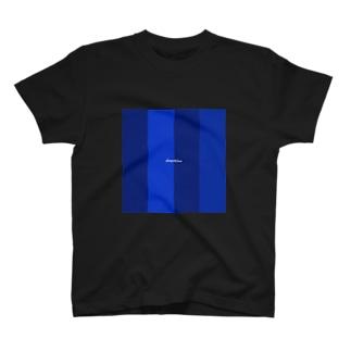 deep blue T-shirts