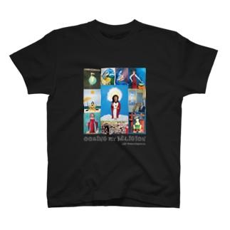 宗教観あふれ出るバッドアート T-shirts