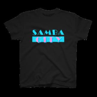 your mvのSAMBA CITY T-shirts