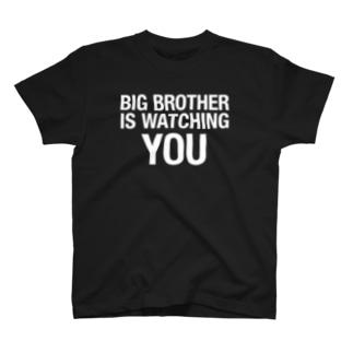 1984年 BIG BROTHER(白文字) T-shirts