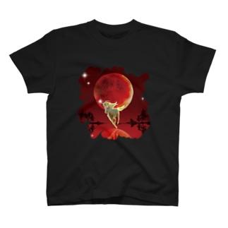 血染めの月 T-shirts