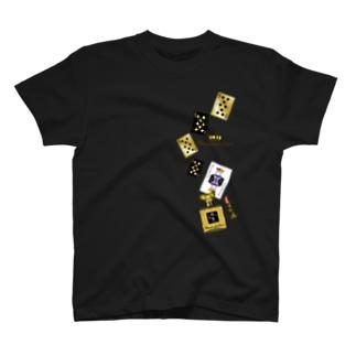 アンドアイデザイン 数秘&カラー🄬オマージュボトルNo8&GOLD T-shirts