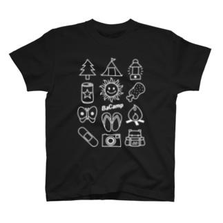 BaCamp Tシャツ ダークカラー T-shirts