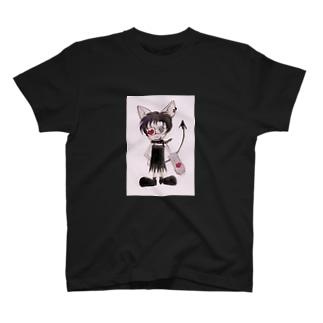 ぷしーきゃっと T-shirts