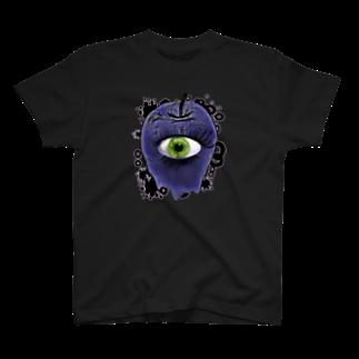 nue-designの悪魔の毒リンゴ T-shirts