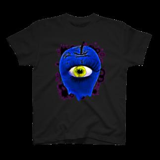 nue-designの悪魔の毒リンゴVer.4 T-shirts