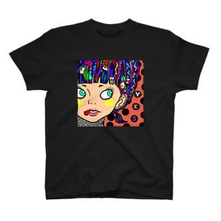 裸眼ガール T-shirts