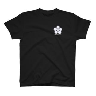 ホワイトうめばち T-shirts