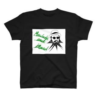 口髭とあご髭 その2 T-shirts