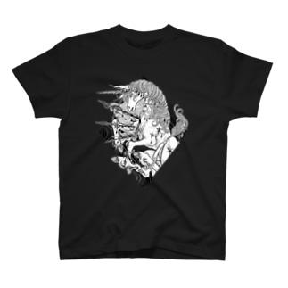 BLACKINK のUNICORN T-shirts