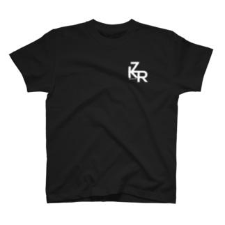 ZKR Tシャツ(ロゴ白ver.) T-shirts