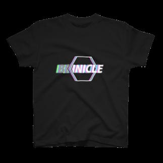 BRINICLEのBRINICLE INTO HEX TEE B T-shirts