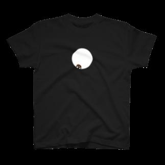 DOTEKKOのひょっこりスズメ T-shirts