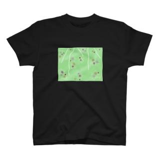 謎柄の和風グッズA(若緑) / Japanese style goods A inspired by escape room (Light green) T-shirts