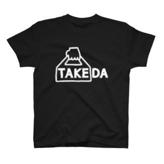 TAKEDA vo.1 WHITE FONT T-shirts