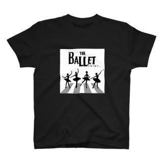 アビーロード×バレリーナ T-shirts