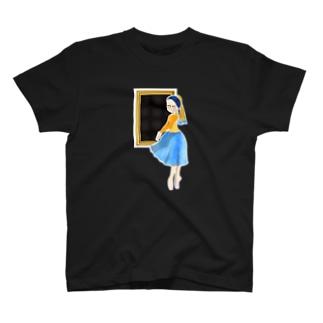 名画 × バレエ【真珠の耳飾りの少女】 T-shirts