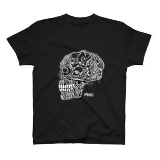 頭蓋骨 T-shirts
