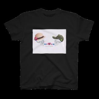 花とカルシウムの骨の髄まで愛してる T-shirts