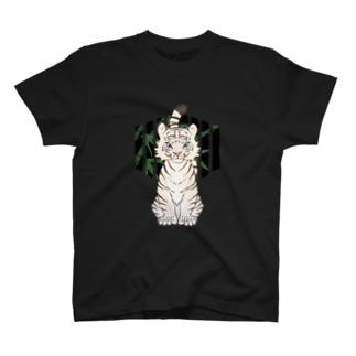 虎(白) T-shirts