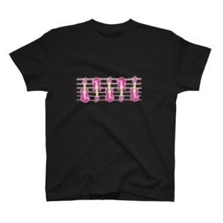ギターァァァ T-shirts