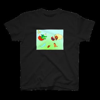 樹クリエイションの心の憎悪 T-shirts