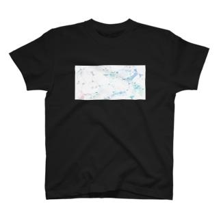 里 (sato)の溶ける T-Shirt