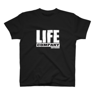 LIFE COMP SQUER WH T-shirts