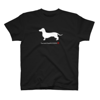 Coco 肉球Red T-shirts